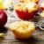 muffinok · alma · fahéj · piros · alma · nyitott · könyv · papír - stock fotó © zoryanchik