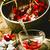 赤 · 液果類 · バラ · 緑の葉 · 孤立した - ストックフォト © zoryanchik