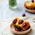 ciruela · torta · alimentos · verano · azul · Navidad - foto stock © zoryanchik