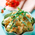 hot potato salad with green beans and carrot stock photo © zoryanchik