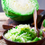 kool · dieet · groene · kom · koken · gezonde - stockfoto © zoryanchik