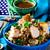 rizs · tyúk · lencse · saláta · gyógynövények · étel - stock fotó © zoryanchik