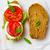 mozzarella · hortalizas · tomates · espinacas - foto stock © zoryanchik