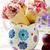 слива · мороженым · белый · шоколадом · цитрусовые · дизайна - Сток-фото © zoryanchik