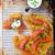 potato galett  with a salty salmon stock photo © zoryanchik