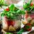 куриные · банку · Салат · стиль · продовольствие · стекла - Сток-фото © zoryanchik
