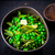 stewed green peas with fried eggs stock photo © zoryanchik
