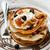 pannenkoeken · honing · ontbijt · voedsel · bosbessen · hout - stockfoto © zoryanchik