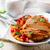 курица-гриль · груди · овощей · продовольствие · куриные · обеда - Сток-фото © zoryanchik