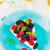 pie · frescos · bayas · menta · blanco · alimentos - foto stock © zoryanchik