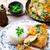 жаркое · из · курицы · лимона · чеснока · продовольствие · обеда · приготовления - Сток-фото © zoryanchik