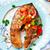 лосося · гриль · стейк · овощей · кукурузы · спаржа - Сток-фото © zoryanchik
