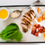 ensalada · cuscurro · carne · verduras · frescas · frito · placa - foto stock © zoryanchik
