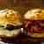 sandwiches with baked pork stock photo © zoryanchik