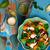 Салат · тыква · извести · здоровое · питание · стиль · Vintage - Сток-фото © zoryanchik