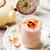 delicioso · bolo · de · cenoura · páscoa · papel · comida - foto stock © zoryanchik