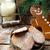 Noel · kurabiye · görmek · kadın · dokunmak - stok fotoğraf © zoryanchik