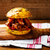 Бутерброды · свинина · сыра · соус · стиль - Сток-фото © zoryanchik