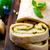 sarımsaklı · ekmek · pesto · fesleğen · sarımsak · gıda · arka · plan - stok fotoğraf © zoryanchik