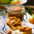 szeletek · almák · mogyoróvaj · üveg · háttér · kövér - stock fotó © zoryanchik