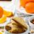 hazelnut orange shortbreadstyle rustic stock photo © zoryanchik