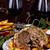 sült · disznóhús · asztal · ünnepi · karácsony · dekoráció - stock fotó © zoryanchik