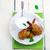 鶏 · 白 · プレート · 表 · キッチン - ストックフォト © zoryanchik