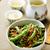 зеленая · фасоль · чеснока · избирательный · подход · лет · зеленый · белый - Сток-фото © zoryanchik