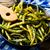 zielona · fasola · czosnku · selektywne · focus · lata · zielone · biały - zdjęcia stock © zoryanchik