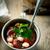 minestra · di · fagioli · alimentare · pollo · cena · caldo · pepe - foto d'archivio © zoryanchik
