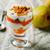yoğurt · sağlıklı · taze · meyve · nane · meyve · hayat - stok fotoğraf © zoryanchik