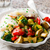 steamed fish fillet with vegetables stock photo © zoryanchik