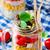 mason · kavanoz · salata · mısır · yeşil · bezelye - stok fotoğraf © zoryanchik