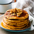 pumpkin pancakes with marple syrup stock photo © zoryanchik