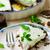 homemade chocolate mint ice cream cake stock photo © zoryanchik