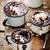 quente · pudim · bolo · sorvete · foco - foto stock © zoryanchik