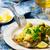魚 · フィレット · キャベツ · 選択フォーカス · ディナー - ストックフォト © zoryanchik