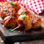 chicken meatballs with glaze stock photo © zoryanchik