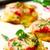 vegetariano · pizza · foto · branco · saúde · queijo - foto stock © zoryanchik