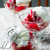 fraise · sorbet · trois · dessert · rose · cuillère - photo stock © zoryanchik