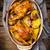 gebakken · vlees · aardappel · glas · plaat · voedsel - stockfoto © zoryanchik