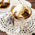 creme · vidro · tigela · foco · comida · fruto - foto stock © zoryanchik