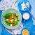 Салат · тыква · фета · здоровое · питание · стиль · Vintage - Сток-фото © zoryanchik