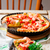 camarão · alho-porro · segurelha · torta · queijo · vermelho - foto stock © zoryanchik