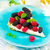 slice of a tart with fresh berries stock photo © zoryanchik