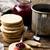 reçel · kurabiye · yeşil · peçete · çilek · tatlı - stok fotoğraf © zoryanchik