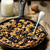 baked oatmeal in a pig iron frying pan stock photo © zoryanchik