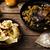 Potatoes vareniki in a ceramic bowl.  stock photo © zoryanchik