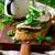 rundvlees · sandwich · Open · voedsel · plantaardige · vers - stockfoto © zoryanchik