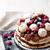 meringue cake with chocolate mousse and berries stock photo © zoryanchik